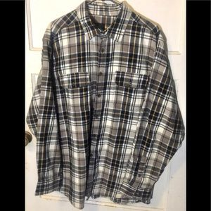 Faded Glory Flannel sz: XL/XG (46-48)